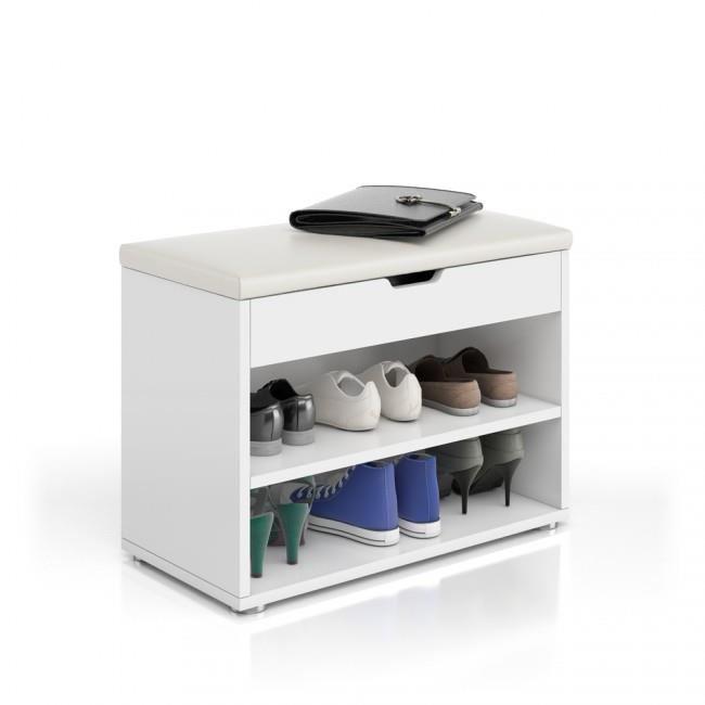 banc range chaussures