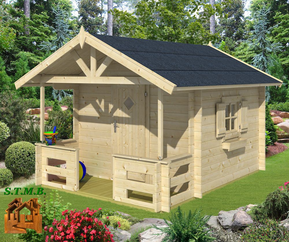 cabane en bois