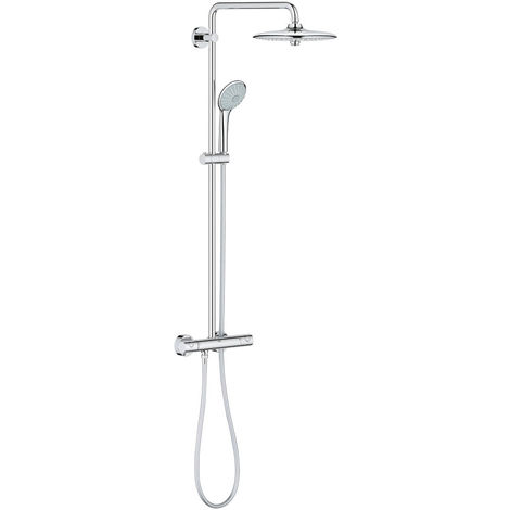 colonne de douche thermostatique grohe