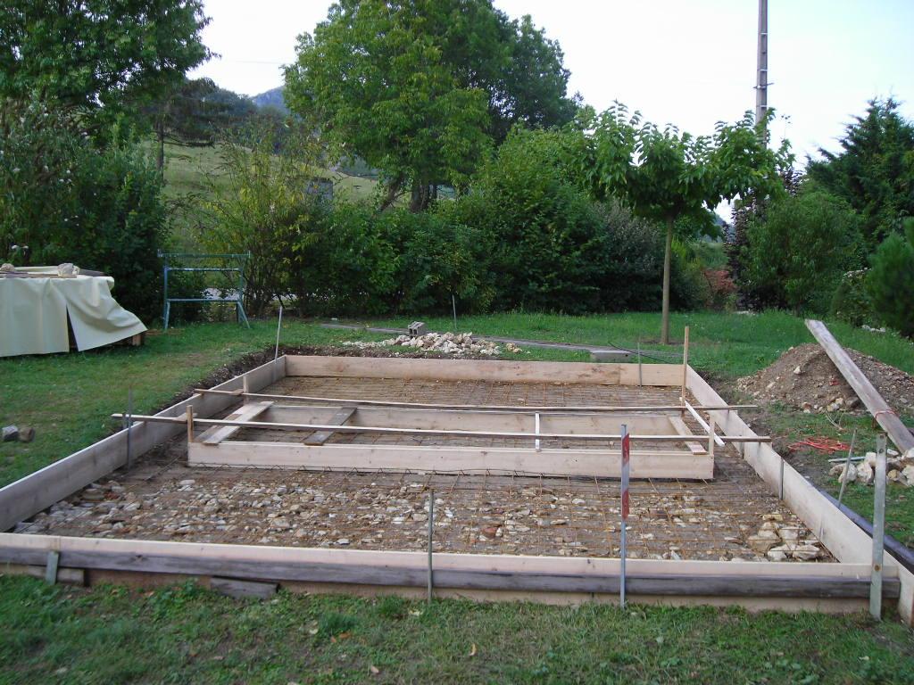 Faire une dalle pour piscine hors sol