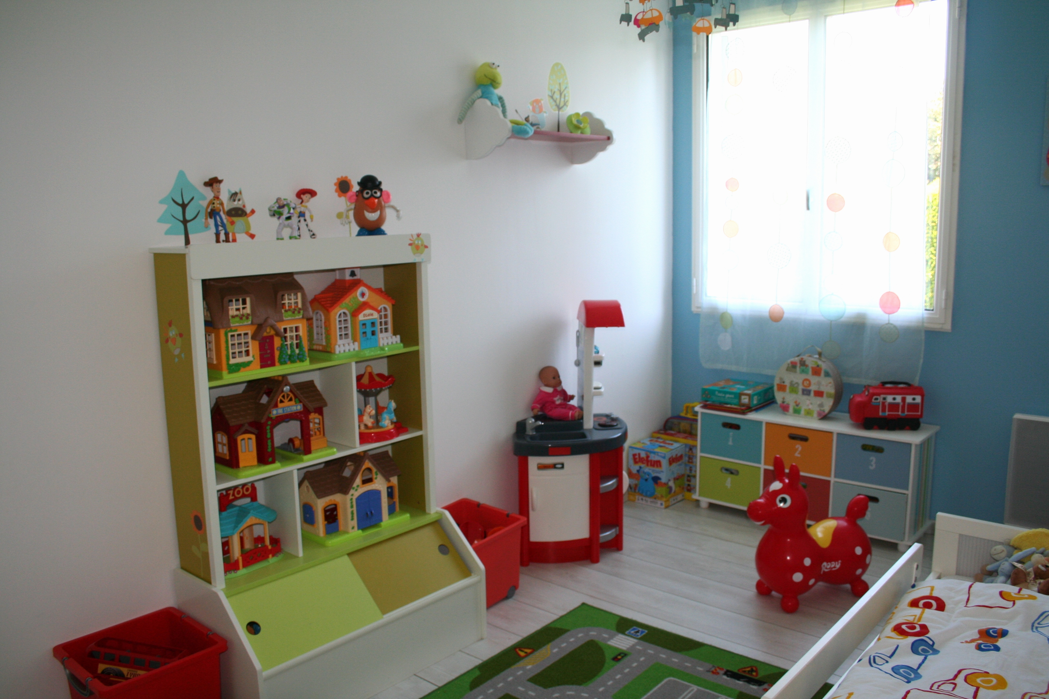déco chambre garçon 3 ans