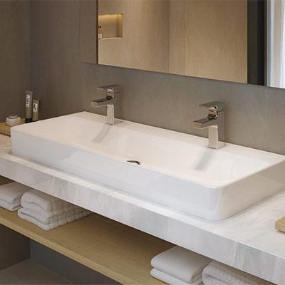 Vasque à Poser 2 Robinets | tilburgsourdough