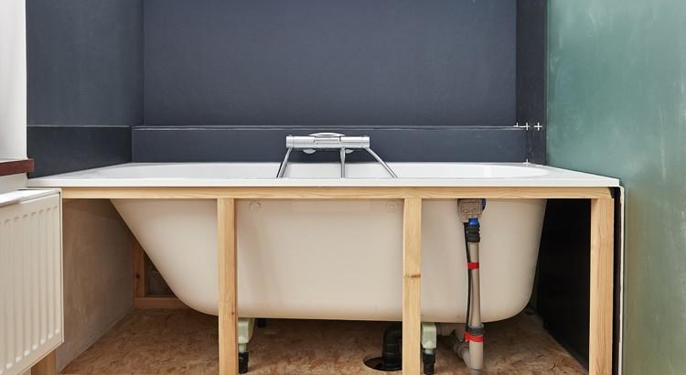 installation baignoire