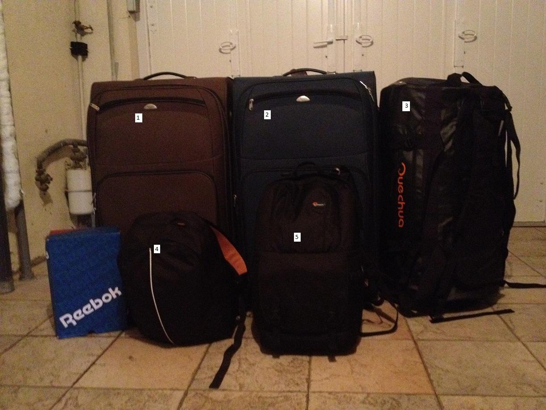 les bagages