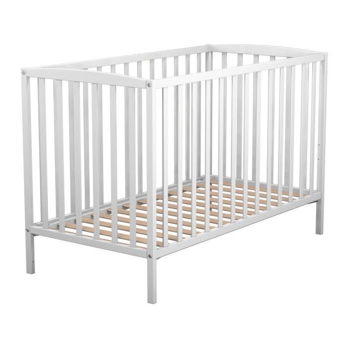 lit a barreau blanc
