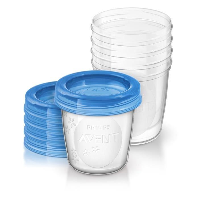 pot conservation lait maternel