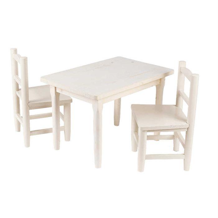 table chaise enfant