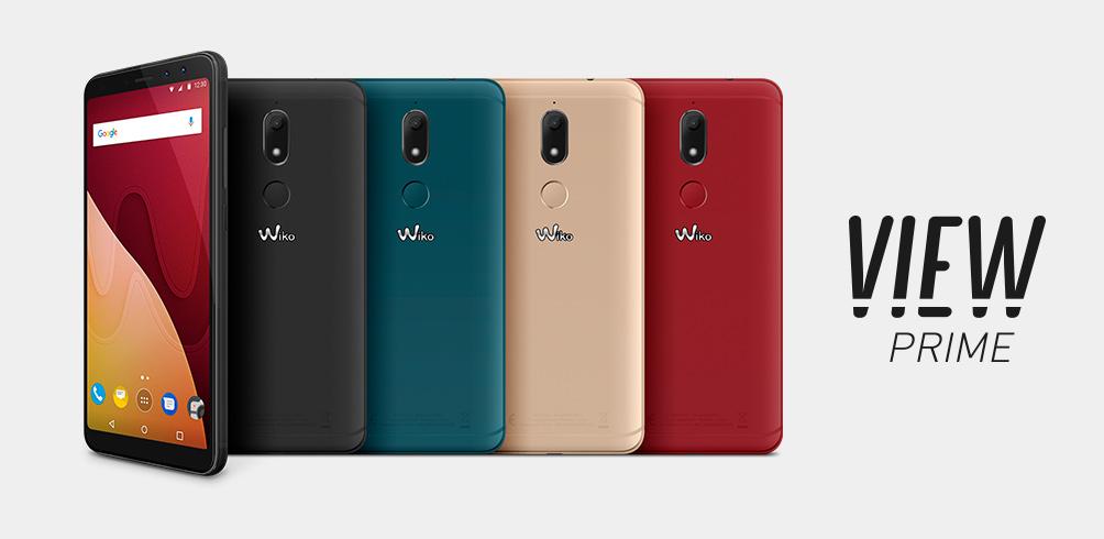 wiko view prime