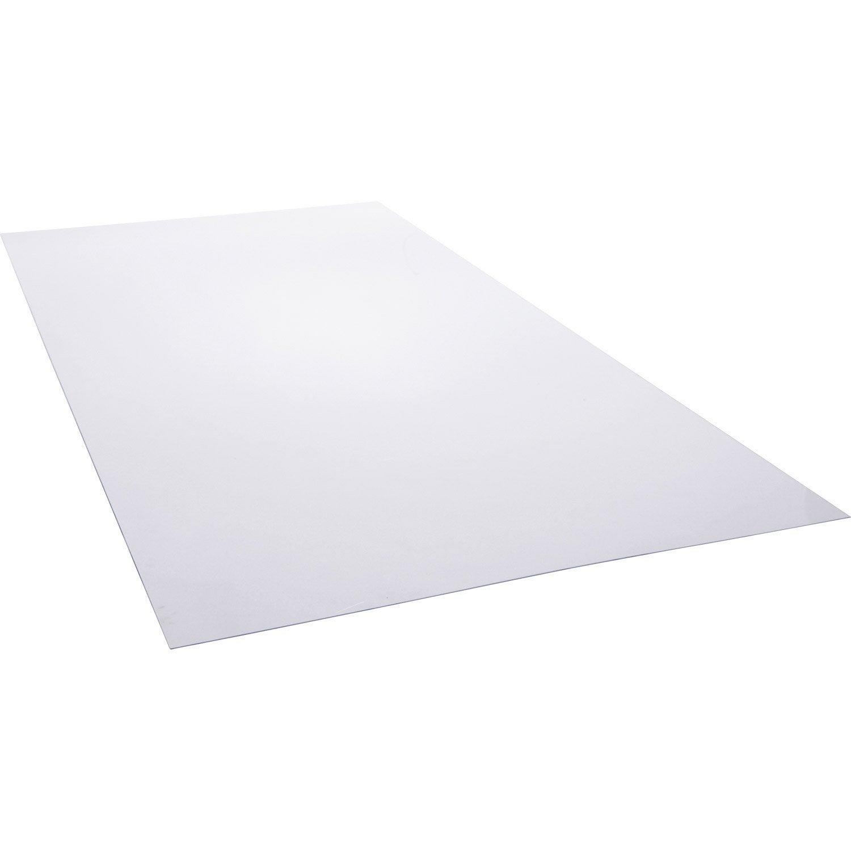 plaque transparente