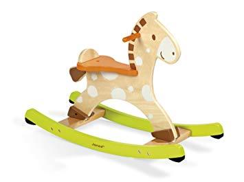 cheval à bascule en bois janod