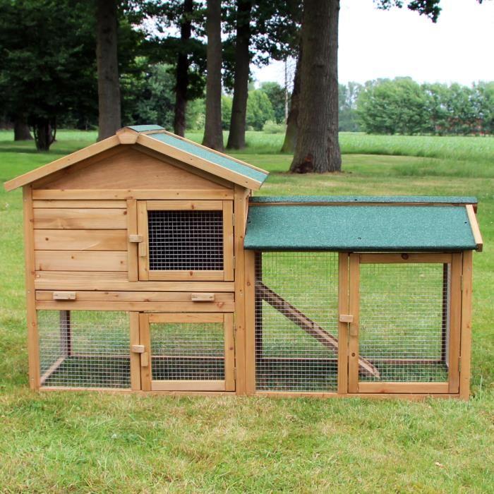 cage lapin exterieur