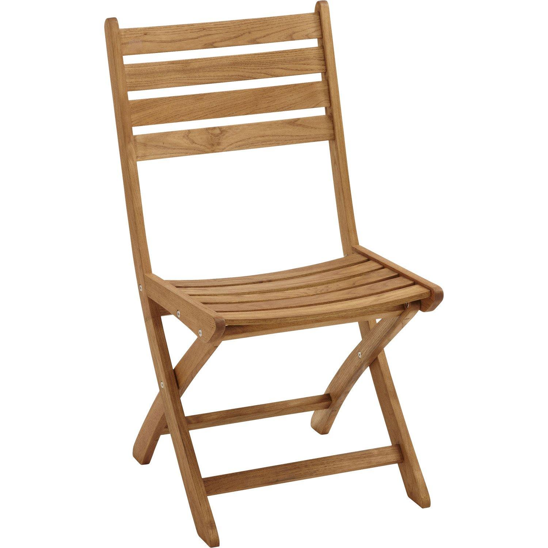 chaise de jardin en bois