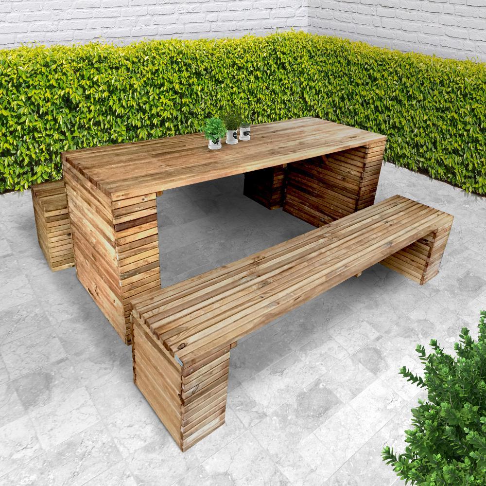 table bois exterieur